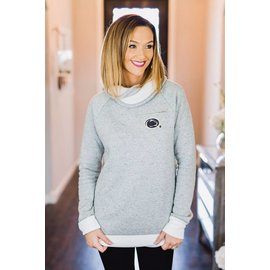 Gameday Couture Cowl Neck Pullover
