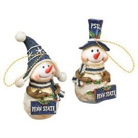 HANNA'S HANDIWORKS Snowman Ornament Resin