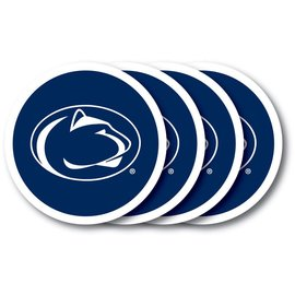 PSU 4 Vinyl Coaster Set