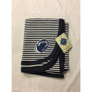 Creative Knitwear Penn State Baby Blanket