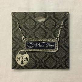 From The Heart Enterprises., Inc. Penn State Nameplate Necklace
