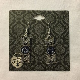 From The Heart Enterprises., Inc. Crystal MOM Earrings