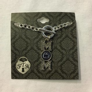 From The Heart Enterprises., Inc. Crystal MOM Toggle Bracelet