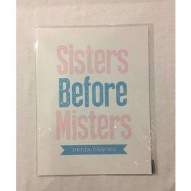 Dwellings Sisters Before Misters DG