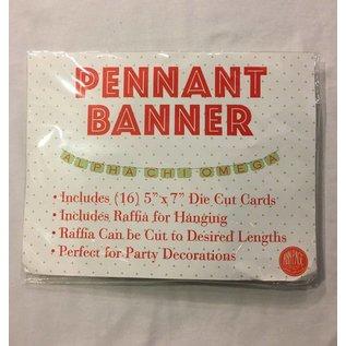 Dwellings Pennant Banner ACO