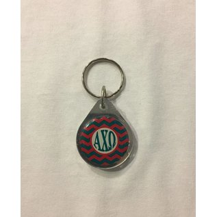Dwellings Chevron Keychain ACO