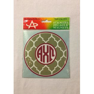 Dwellings Monogram Decal ACO