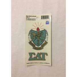 Dwellings Sorority Crest Decal SDT