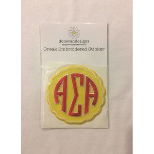 Dwellings Embroidered Patch ASA
