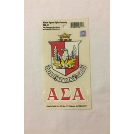 Dwellings Sorority Crest Decal ASA