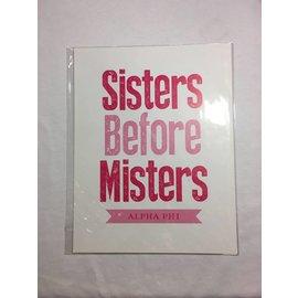 Dwellings Sisters Before Misters AP