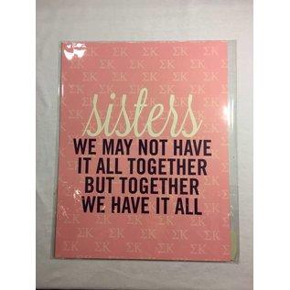 Dwellings Sisters Loft Print SK