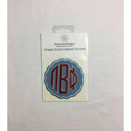 Dwellings Embroidered Patch PBP