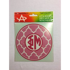 Dwellings Monogram Decal PM