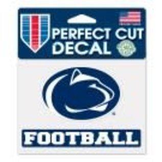 WinCraft, Inc. Perfect Cut Decal Football