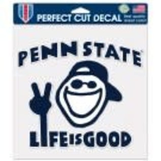 WinCraft, Inc. Penn State Life is Good Decal 8x8