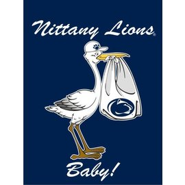 New Baby Stork Navy