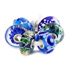 Trollbeads Elegant Christmas Glass Bead Collection
