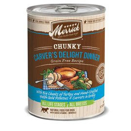 Merrick Merrick Wet Dog Food Chunky Can