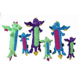 GoDog GoDog Chew Guard Skinny Dragon Dog Toy