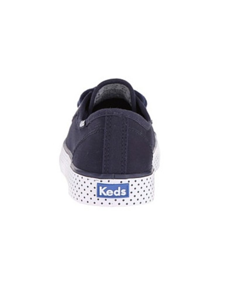 Keds 'Double Up' Navy Dot and White