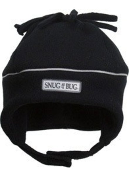 Snug As A Bug Snug as a Bug Reflective Hat - Black