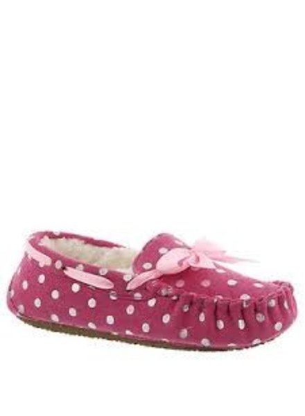 Stride Rite Stride Rite Shimmer Dot Moccasin - Youth