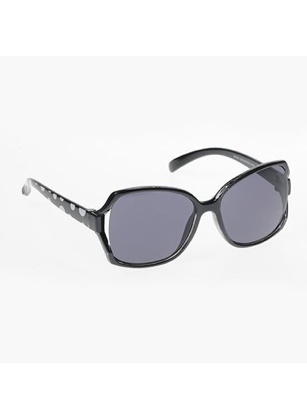 Kids Oversized Sunglasses - BLACK
