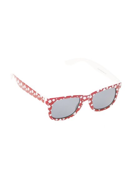 Kids Sport Themed Wayfarer Sunglasses - Baseball