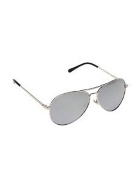 Kids Aviator Sunglasses - GUNMETAL & BLACK