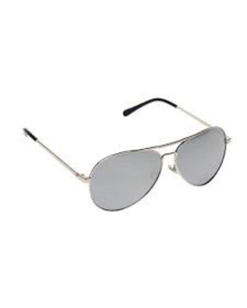 Kids Aviator Sunglasses - GUNMETAL & BLACK