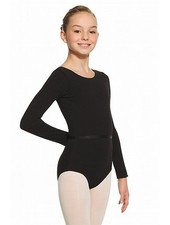 Mondor Mondor 'LONG' Sleeve Leotard -  Black