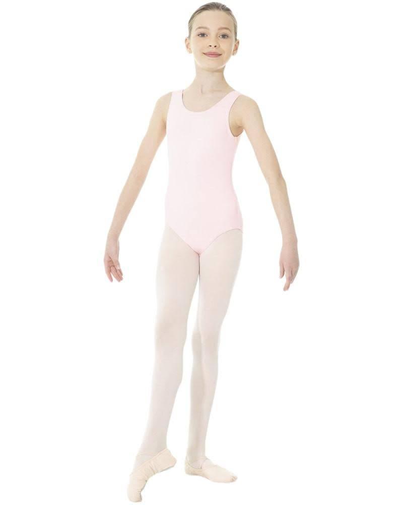 Mondor Mondor 'TANK' Leotard - Pink - Sole Kids Shoe Company