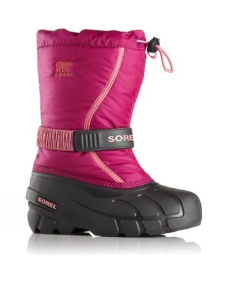 Sorel Sorel 'FLURRY' - Deep Blush, Tropic Pink
