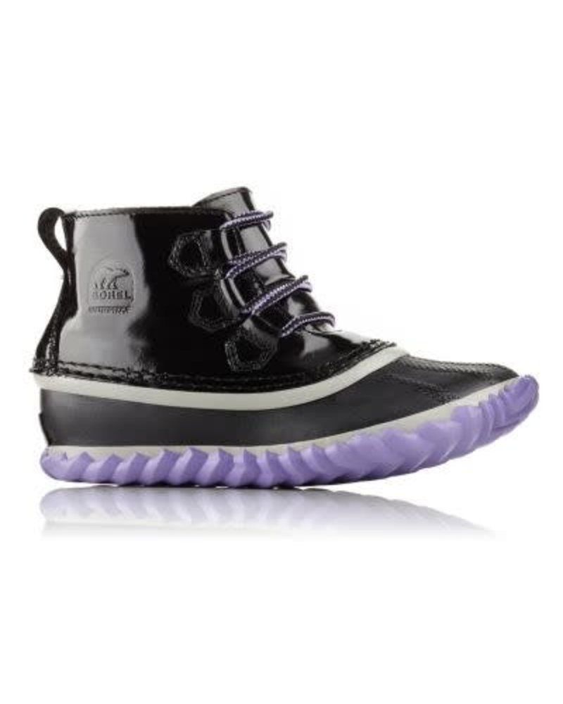 Sorel Sorel OUT 'N ABOUT™ PATENT LEATHER - Black/Purple