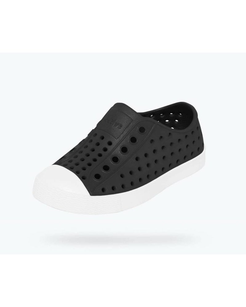 Native Native Jefferson - JIFFY BLACK / SHELL WHITE