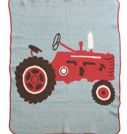 Green 3 Apparel Tractor Jr. Throw