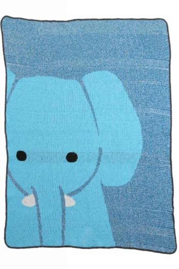 Green 3 Apparel Elephant Jr. Throw