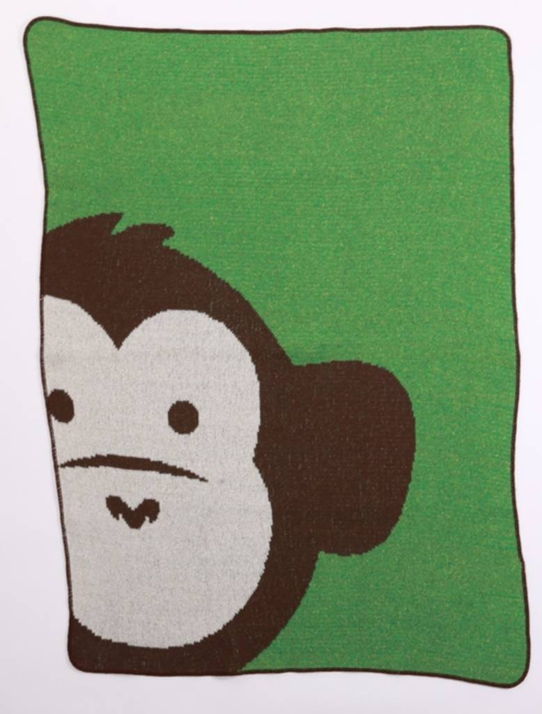 Green 3 Apparel Monkey Jr. Throw