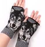 Green 3 Apparel Wolf handwarmers