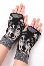 Green 3 Apparel Wolf handwarmers
