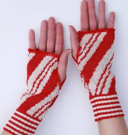 Green 3 Apparel Candy Cane Handwarmers