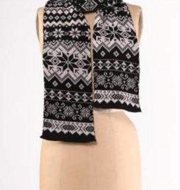 Green 3 Apparel Nordic Scarf - black combo
