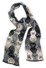Green 3 Apparel Repeating Kitty scarf