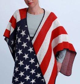 Green 3 Apparel Americana Flag Wrap