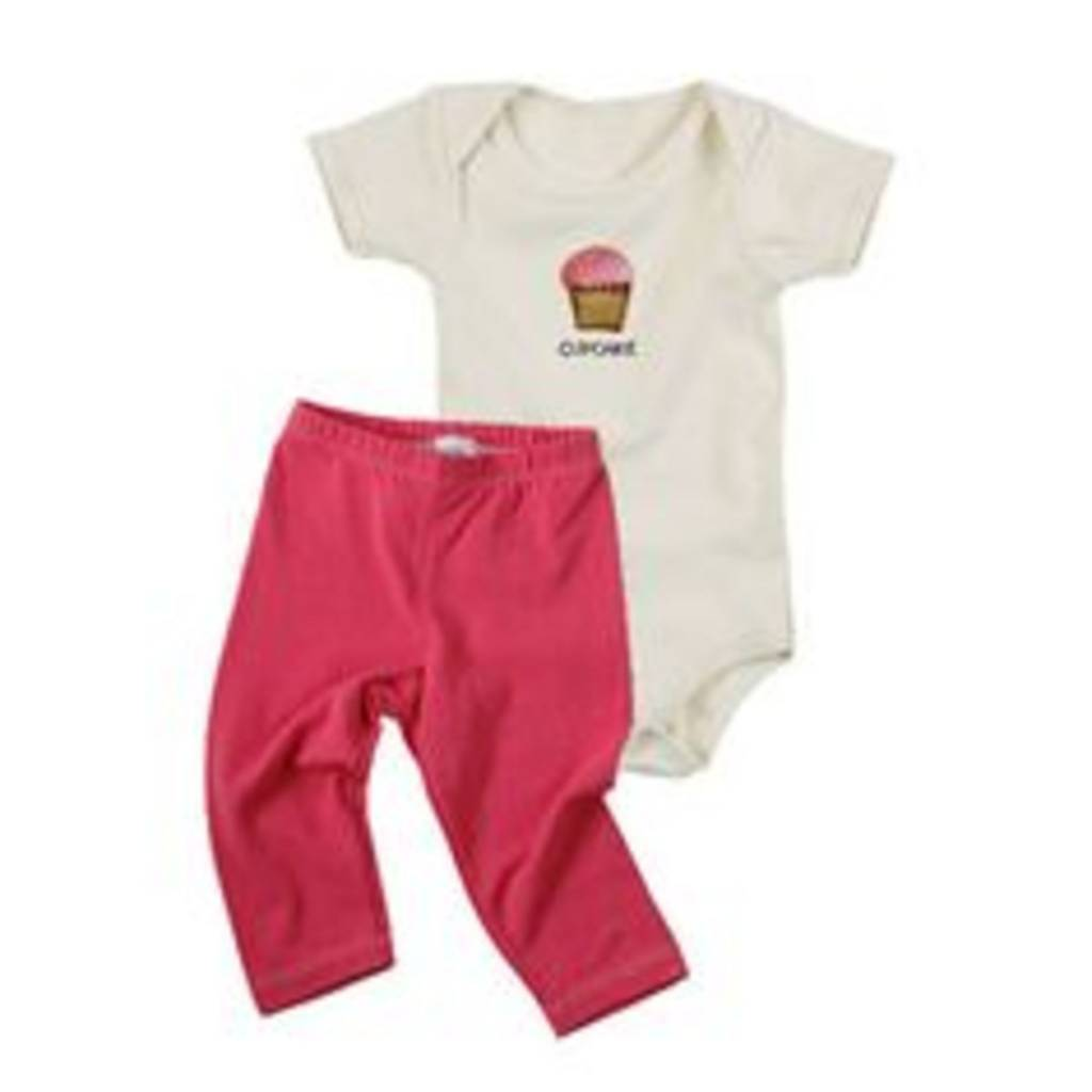 KeeKa Cupcake/Pink Giftset 3-6mo 3-6 M