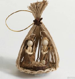 SERRV Toquilla Nativity Ornament