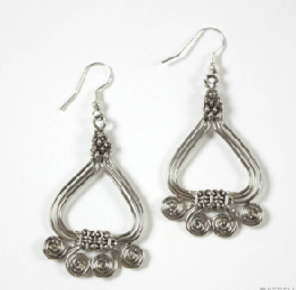 SERRV Swirl Earrings