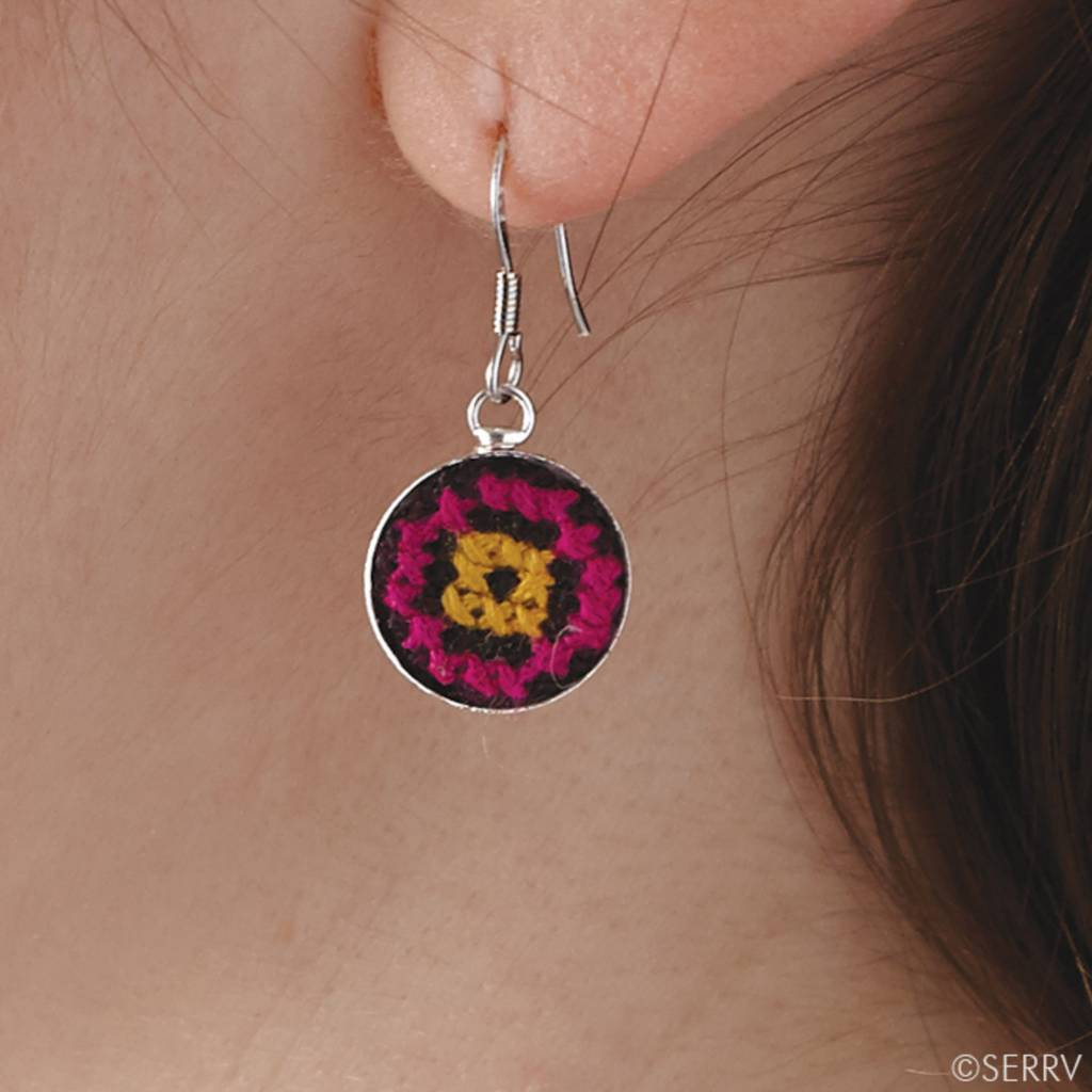 Yunnan Flower Earrings