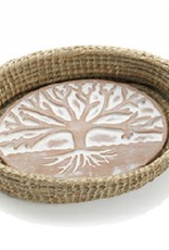 Tree of Life Bread Warmer & Basket